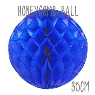 ハニカムボール ロイヤルブルー 35cm