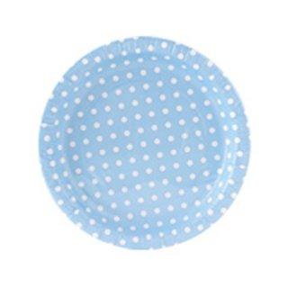 【BCC】ペーパープレート ドットブルー PAPER PLATE POLKA DOTS BLUE