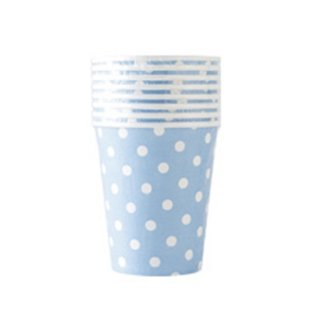 【BCC】ペーパーカップ ドット ブルー PAPER CUP POLKA DOTS BLUE