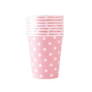 【BCC】ペーパーカップ ドット ピンク PAPER CUP POLKA DOTS PINK