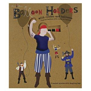 【SALE セール】 【Meri Meri メリメリ】バルーンホルダー Ahoy There Pirate Ballon Holders