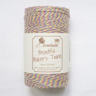 【Beautiful Baker's Twine】 コットン紐(よりひも・コード)キャンディケイン 100m