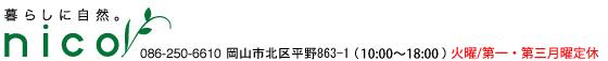 岩塩雑貨とアロマテラピー専門店(岡山市) nico