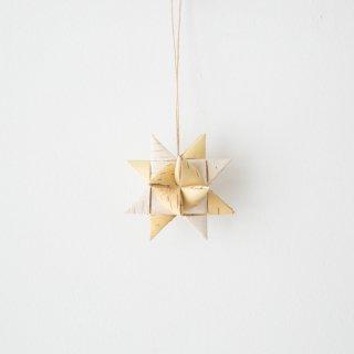 「しらかばsulo/白樺・星のオーナメント(小)」