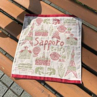 Sapporo Cityジャガードガーゼタオル