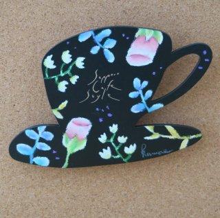 sapporo cafe style/インテリアボード(原画)ピンクの花