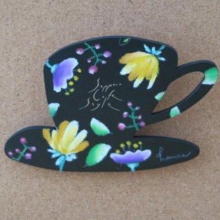 sapporo cafe style /インテリアボード(原画)イエローの花