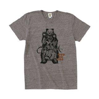 EZONIMAL(エゾニマル)Tシャツ(ナチュラル)|ヒグマ