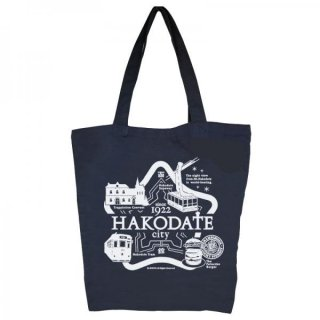 JIMOTOTE(ジモトート)#047 函館 size大・ネイビー【限定バージョン】