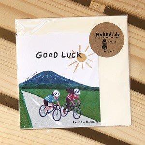 北海道のアウトドアカード /GOOD LUCK