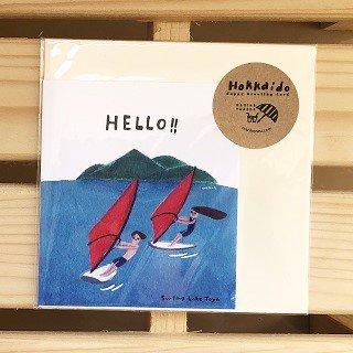 北海道のアウトドアカード / HELLO