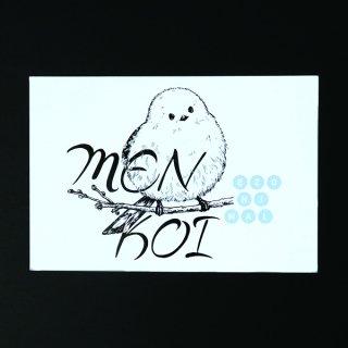 EZONIMAL(エゾニマル)ポストカード |  シマエナガ