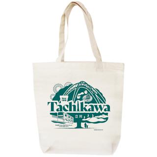 JIMOTOTE 東京TAMAシリーズ/ジモトート立川 #TM002 size大 ナチュラル