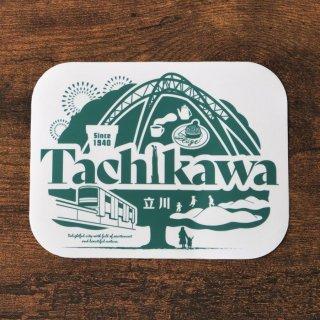 JIMOTO 東京TAMAシリーズ/立川ステッカー ※定型外郵便利用可能商品