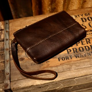 ■ KUDU clutch bag【S】[GAUCHO]
