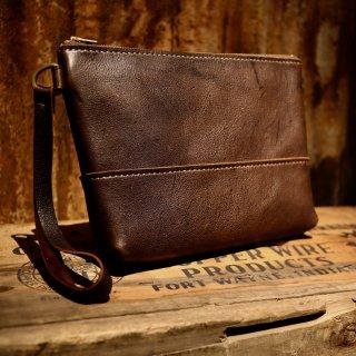 【一点限り】KUDU clutch bag / M / RIDGE