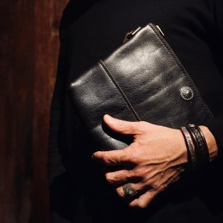 ◆ KUDU clutch bag【M】《限定品》