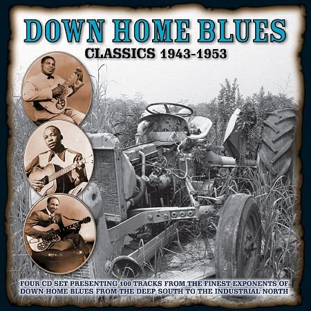 V.A./  DOWN HOME BLUES CLASSICS 1943-1953 VOLUME1(4CD)