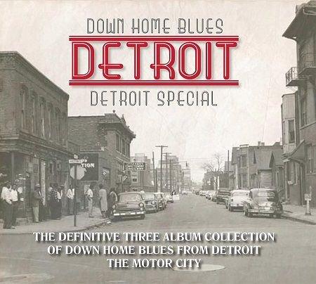 V.A./  DOWN HOME BLUES DETROIT  DETROIT SPECIAL(3CD)