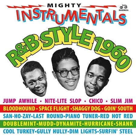 V.A./  MIGHTY INSTRUMENTALS R&B STYLE 1960(2CD)