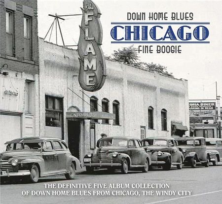 V.A./ DOWN HOME BLUES CHICAGO  FINE BOOGIE(5CD)