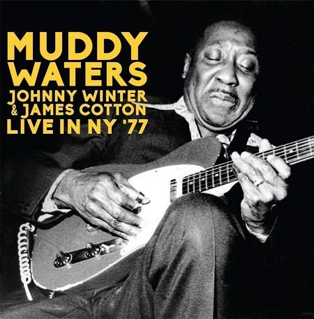 MUDDY WATERS, JOHNNY WINTER AND JAMES COTTON/ LIVE IN NEW YORK '77