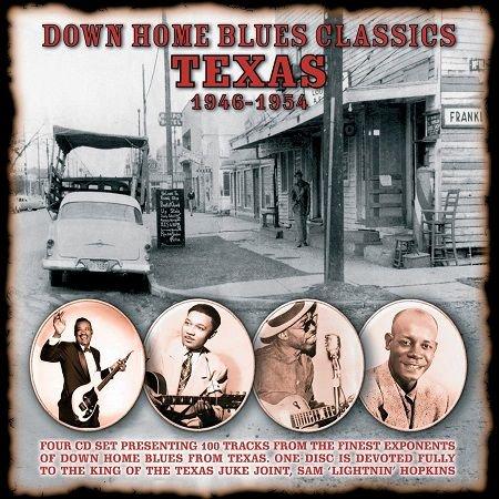 V.A./  DOWN HOME BLUES CLASSICS 1946-1954 VOLUME2 TEXAS(4CD)