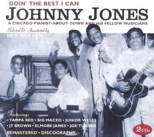 JOHNNY JONES/ DOIN' THE BEST I CAN(2CD)