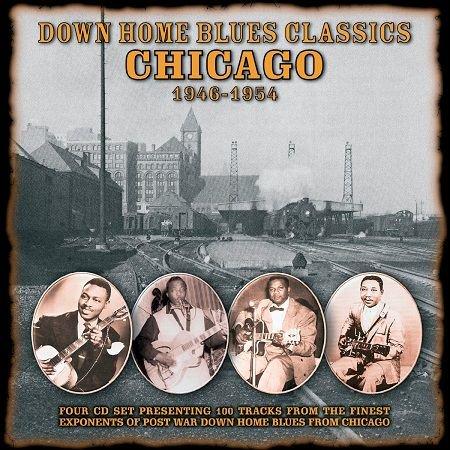 V.A./  DOWN HOME BLUES CLASSICS 1946-1954 VOLUME3 CHICAGO(4CD)