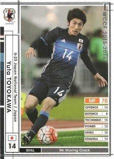 WCCF 15-16  A47 ユウタ・トヨカワ