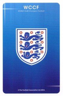 WCCF 15-16 ver1.0 Aimeステッカー イングランド