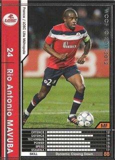 WCCF 11-12   リオ・アントニオ・マブーバ  74
