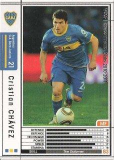 WCCF 10-11    クリスティアン・チャベス  8