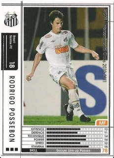 WCCF 10-11    ロドリゴ・ポッセボン  28