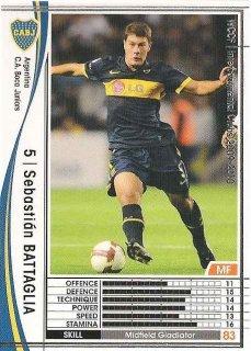 WCCF 09-10    セバスティアン・バタグリア  8