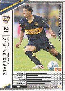 WCCF 08-09    クリスティアン・チャベス  8