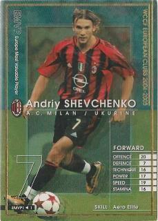 WCCF 04-05    EMVP  アンドリー・シェフチェンコ