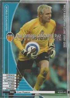 WCCF 04-05    WGK5  ホセ・サンティアゴ・カニサレス