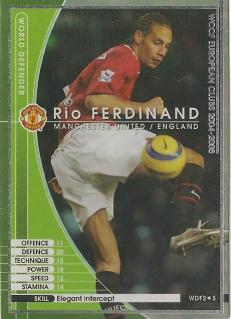 WCCF 04-05    WDF2  リオ・ファーディナンド