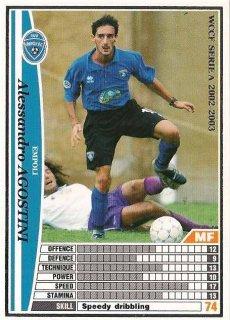 WCCF 02-03   アレッサンドロ・アゴスティーニ  87