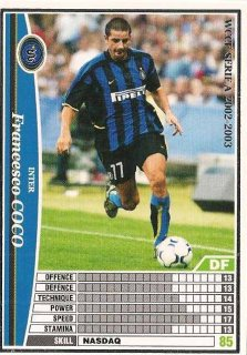 WCCF 02-03   フランチェスコ・ココ  99