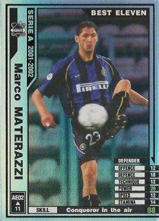 WCCF 01-02    AE02  マルコ・マテラッツィ