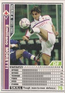 WCCF 01-02   エミリアーノ・モレッティ  68