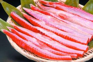 37)おいしい紅鮭ハラス 500g