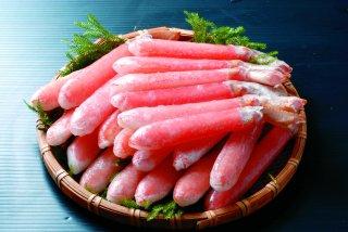 15)生ずわい蟹剥き身 1kg(40本前後)