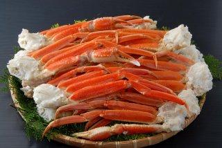 8)生ずわい剥き身とずわい蟹爪のセット