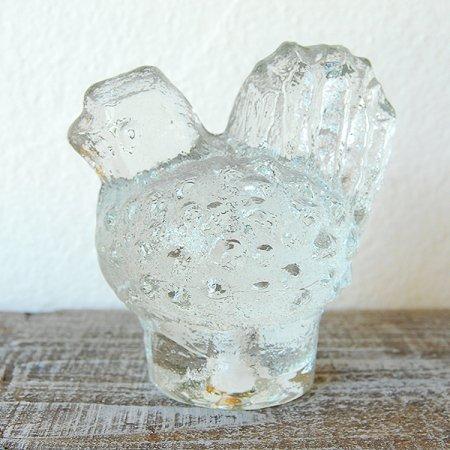 クリアガラスの小鳥 / Pukeberg / Sweden