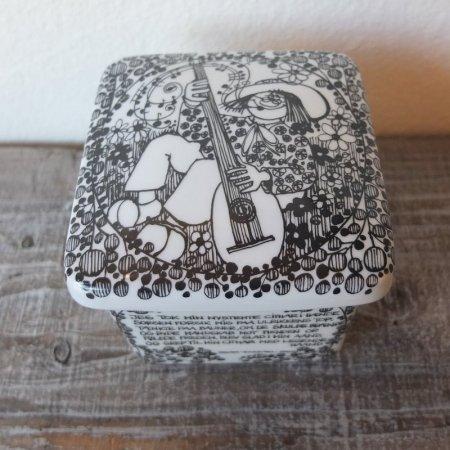 STAVANGERFLINT / スタヴァンゲルフリント / 900年記念陶器ボックス / Norway