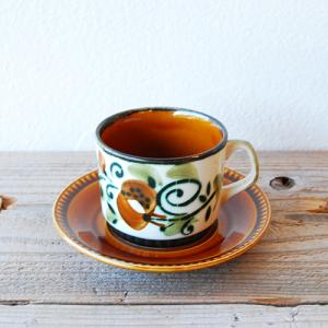BOCH  / Argenteuil / コーヒーカップ&ソーサー / BELGIUM