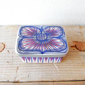 Royal Copenhagen / Tenera / Beth Briyer / 紫の花バターケース / DENMARK